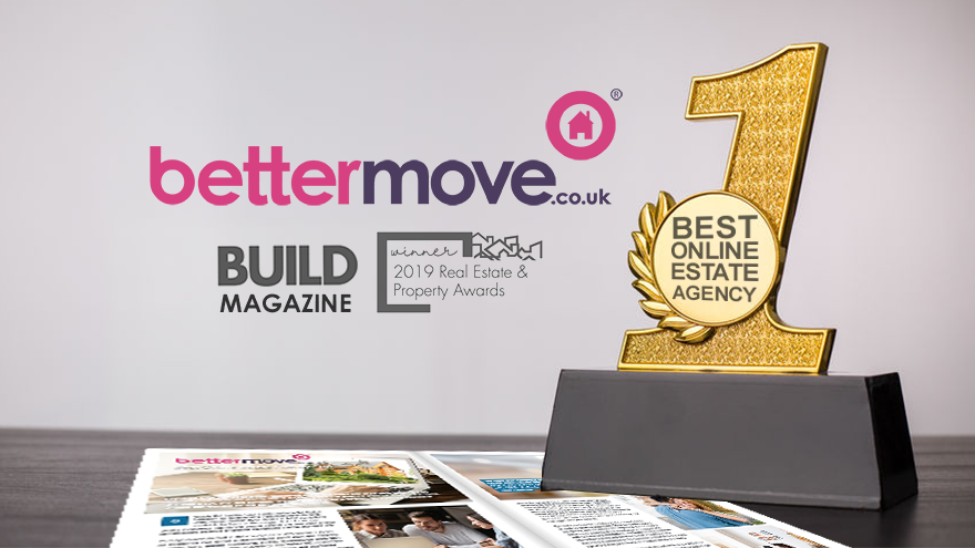 Bettermove Awarded Best Online Estate Agency 2019